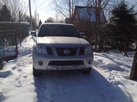 Nissan Pathfinder 2012 - отзыв владельца