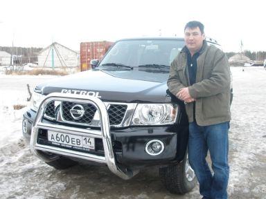 Nissan Patrol 2006 отзыв автора | Дата публикации 15.12.2006.