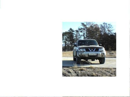 Nissan Patrol 2001 - отзыв владельца