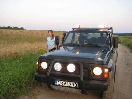 Nissan Patrol 1994 - отзыв владельца