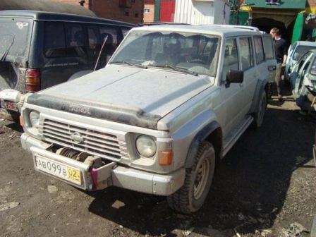 Nissan Patrol 1993 - отзыв владельца