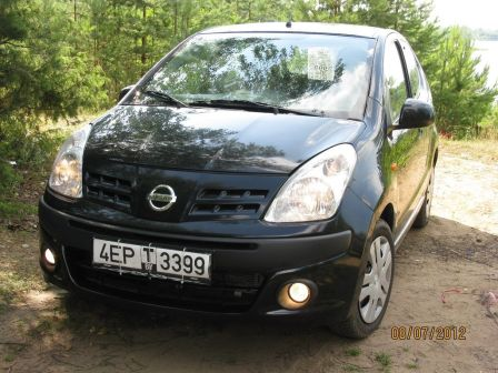 Nissan Pixo 2009 - отзыв владельца