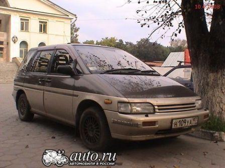 Nissan Prairie 1993 - отзыв владельца