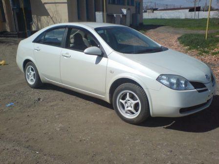 Nissan Primera 2001 - отзыв владельца