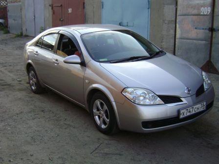 Nissan Primera 2003 - отзыв владельца