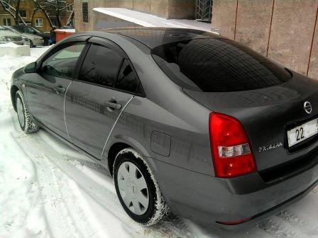 Nissan Primera 2004 - отзыв владельца