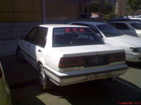 Nissan Pulsar 1989 - отзыв владельца