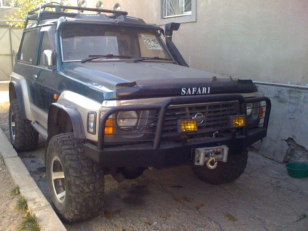 комплектация nissan safari s-vry 60