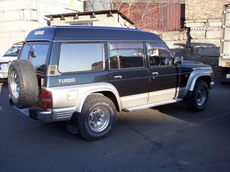 Nissan Safari 1994 - отзыв владельца