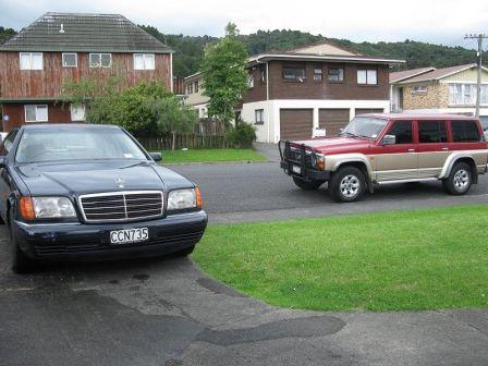 Nissan Safari 1992 - отзыв владельца