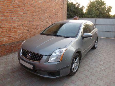 Nissan Sentra 2007 - отзыв владельца