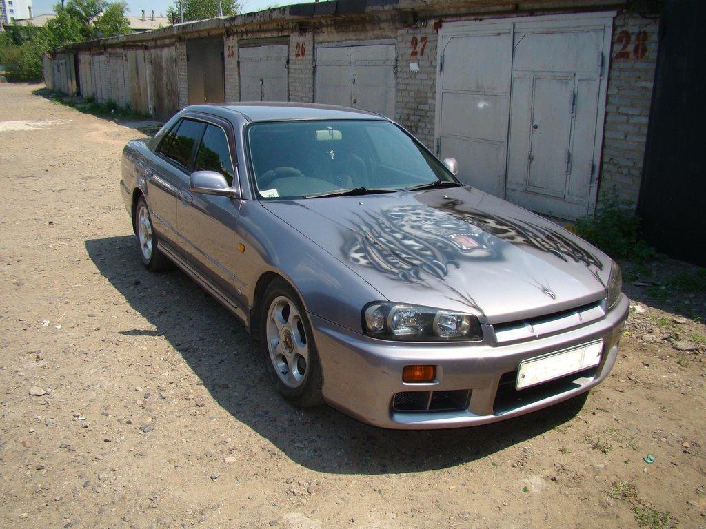 Nissan Skyline 1999 год, 2.5л., Всем доброго времени, руль правый ... ad36f51b649