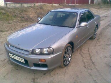Nissan Skyline 1999 отзыв автора | Дата публикации 23.07.2009.