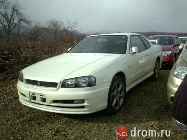 Nissan Skyline 2001 отзыв автора | Дата публикации 07.08.2009.