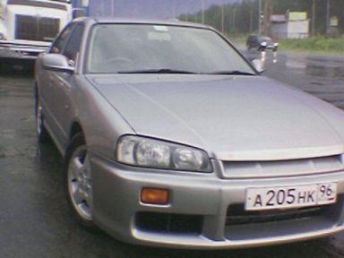 Nissan Skyline 1998 отзыв автора | Дата публикации 30.08.2009.