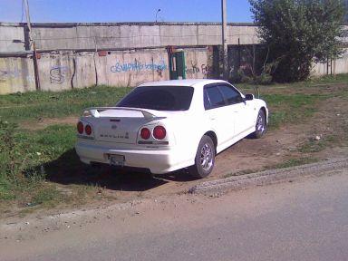 Nissan Skyline 1999 отзыв автора | Дата публикации 11.09.2010.