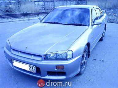 Nissan Skyline 1998 отзыв автора | Дата публикации 30.11.2010.