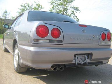 Nissan Skyline 1998 отзыв автора | Дата публикации 20.08.2011.