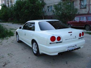 Nissan Skyline 1999 отзыв автора   Дата публикации 15.06.2004.