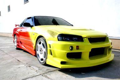 Nissan Skyline 1999 отзыв автора | Дата публикации 09.05.2012.