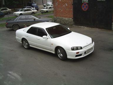 Nissan Skyline 1998 отзыв автора | Дата публикации 28.10.2005.