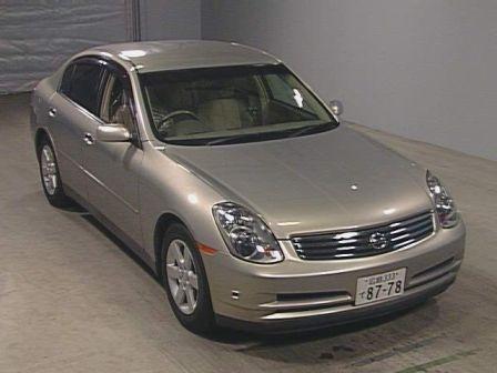 Nissan Skyline 2001 - отзыв владельца