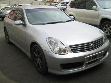 Nissan Skyline 2003 - отзыв владельца
