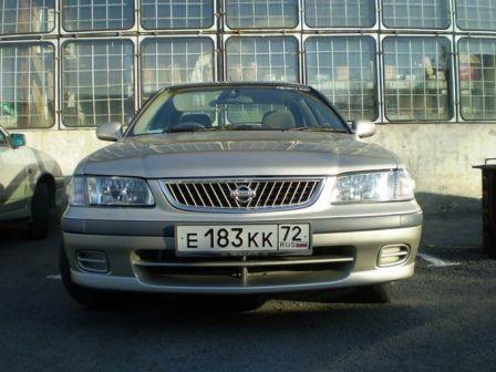 Nissan Sunny 2000 - отзыв владельца