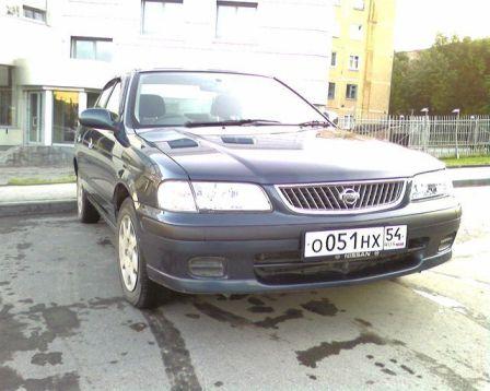 Nissan Sunny 2001 - отзыв владельца