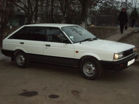 Nissan Sunny 1987 - отзыв владельца