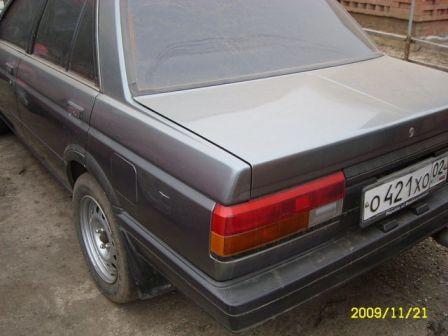 Nissan Sunny 1986 - отзыв владельца