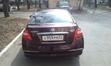 Nissan Teana, 2009