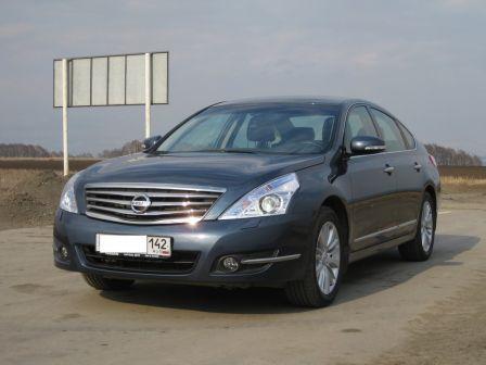 Nissan Teana 2011 - отзыв владельца