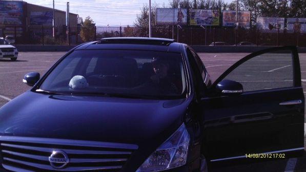 Nissan Teana 2008 - отзыв владельца