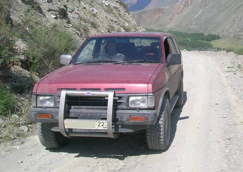 ниссан террано 1991 г. фото