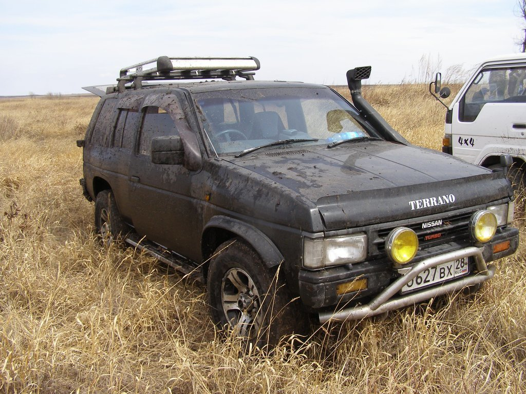 Ремонт ниссан террано 1993
