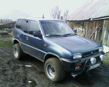 Nissan Terrano II 1994 отзыв автора | Дата публикации 02.05.2009.