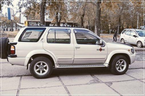 Nissan Terrano Regulus 1996 - отзыв владельца