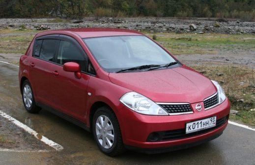 Nissan Tiida 2004 - отзыв владельца