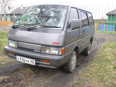 Nissan Vanette 1990 - отзыв владельца