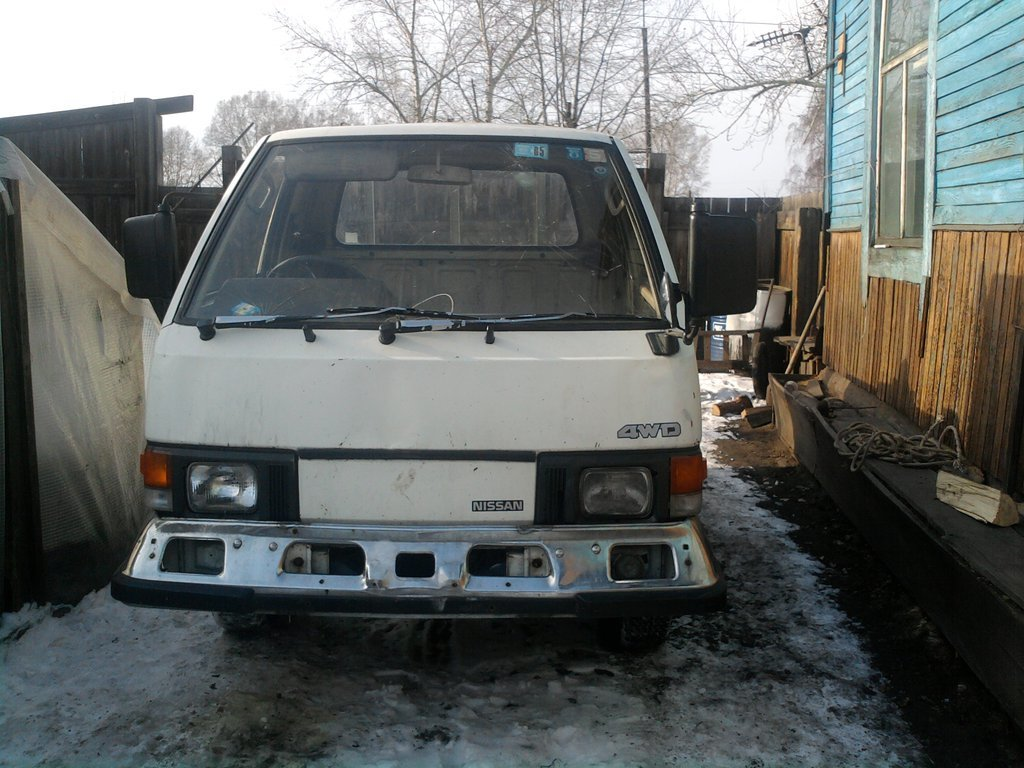 nissan vanette a15s расход