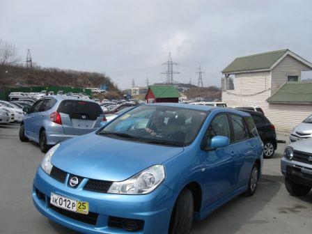 Nissan Wingroad 2008 - отзыв владельца