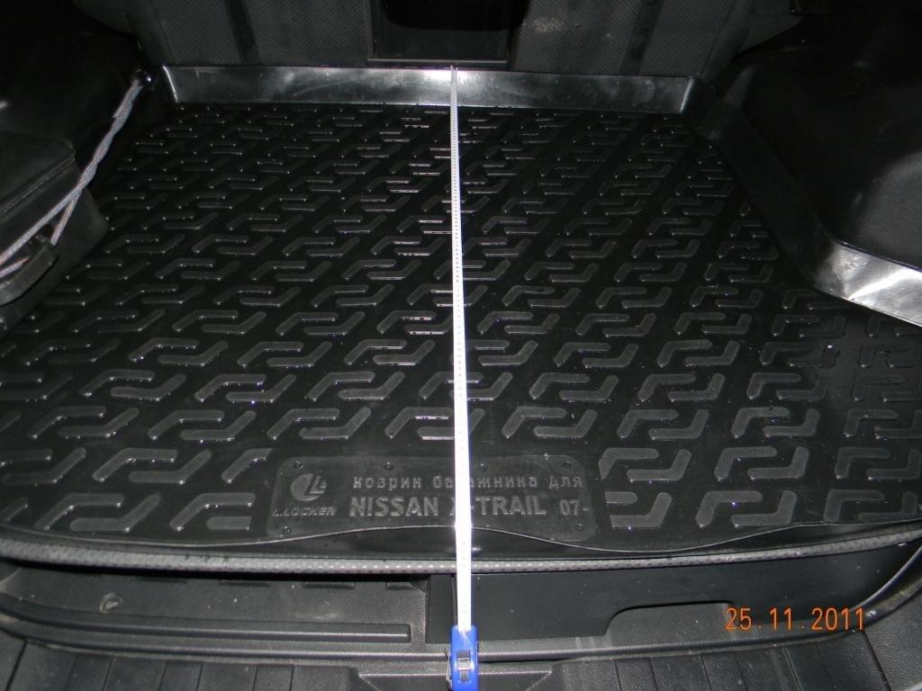 багажник на ниссан х трейл т31 без фонарей
