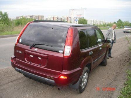 Nissan X-Trail 2002 - отзыв владельца