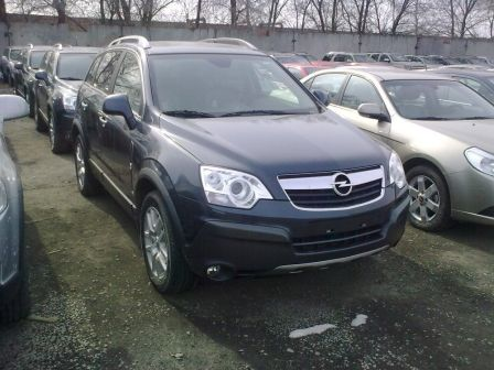 Opel Antara 2008 - отзыв владельца
