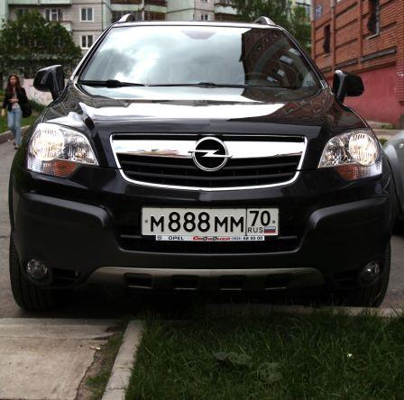 Opel Antara 2009 - отзыв владельца