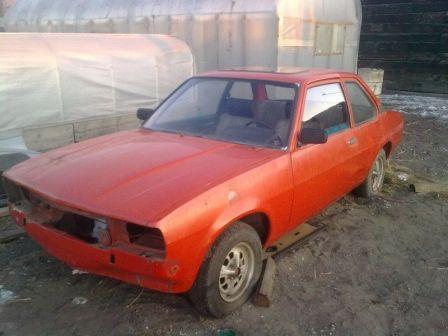 Opel Ascona 1978 - отзыв владельца