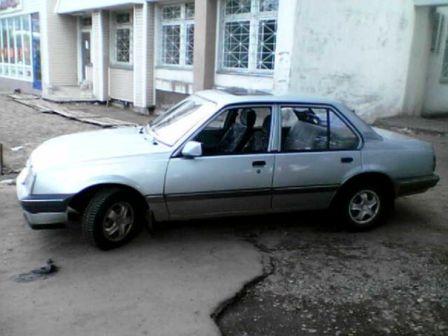 Opel Ascona 1987 - отзыв владельца