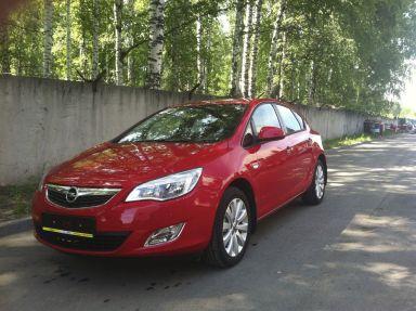 Opel Astra 2011 отзыв автора | Дата публикации 01.07.2012.