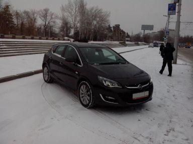 Opel Astra 2013 отзыв автора | Дата публикации 09.04.2014.